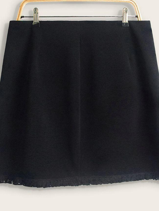 Elegant Tassel Skirt