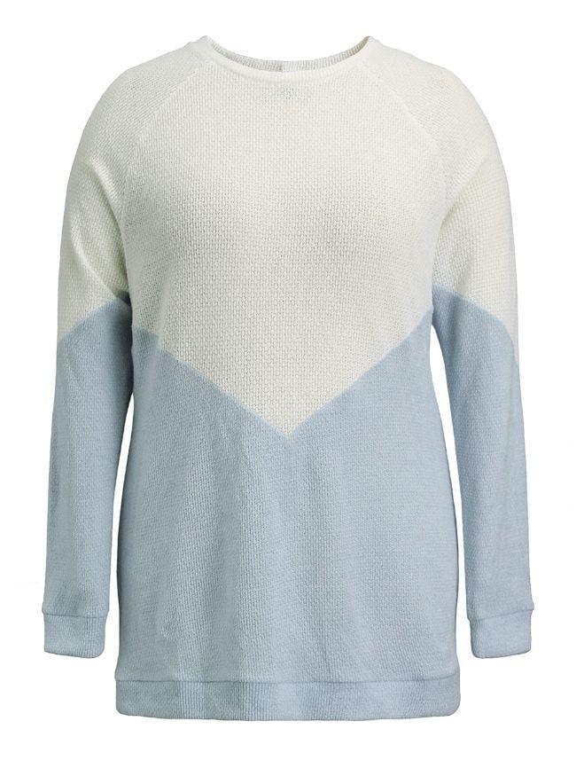 Neck Stitching Sweater