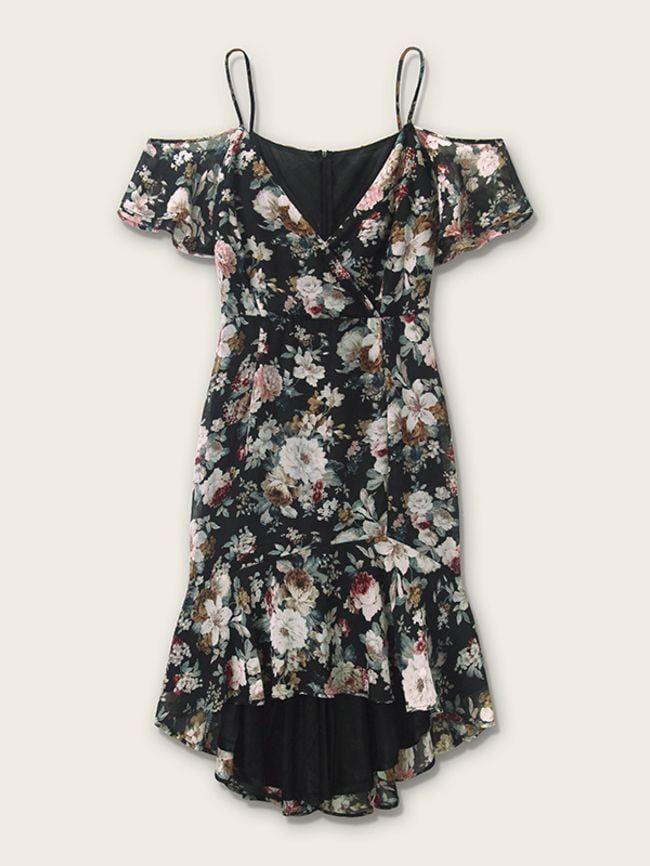 One-Shoulder Long Dress