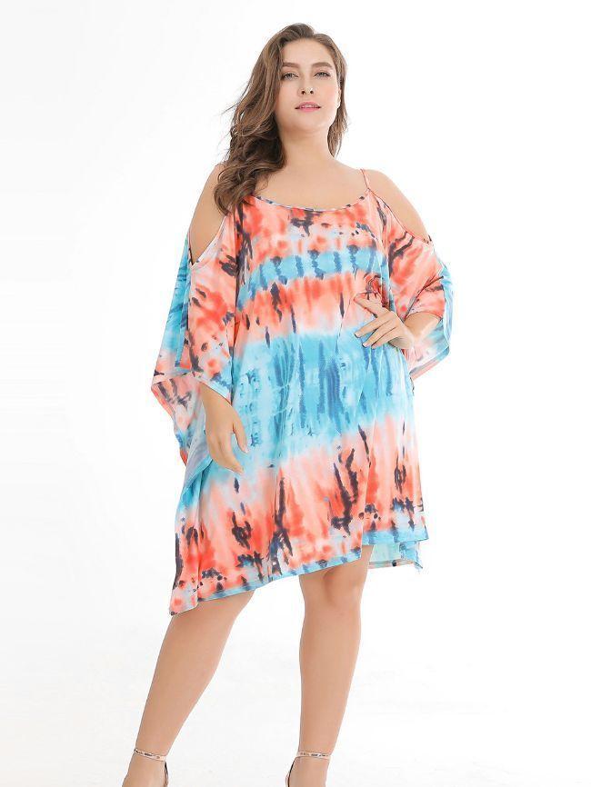 Tie-Dye knitted Dress