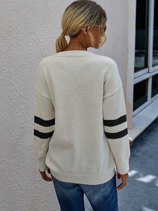 Womens Black Sweater Pullover