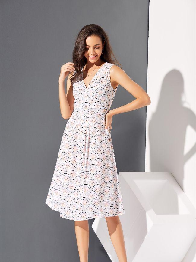 Polka dot women's dresses