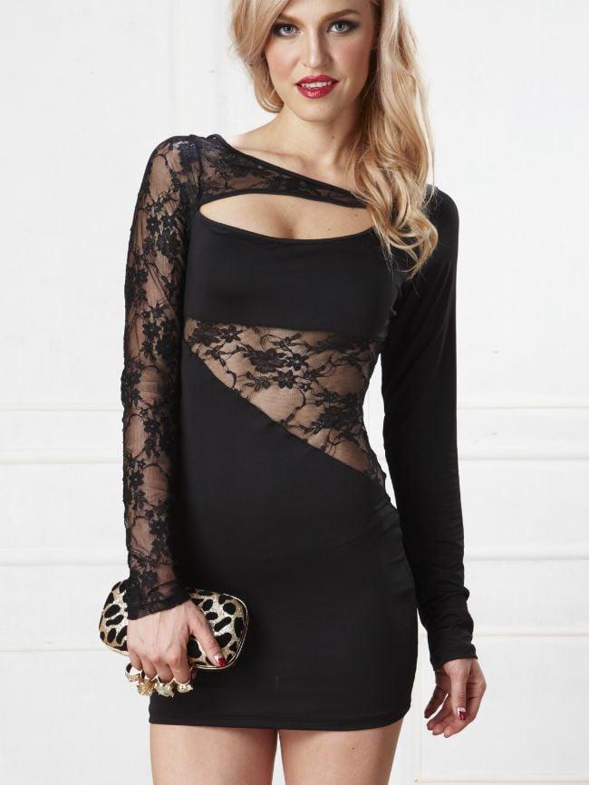 Ball Temperament Lace Dress