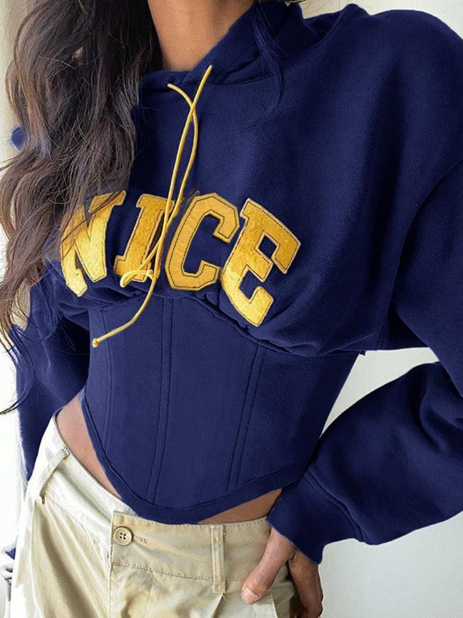 Belted Hooded Sweater