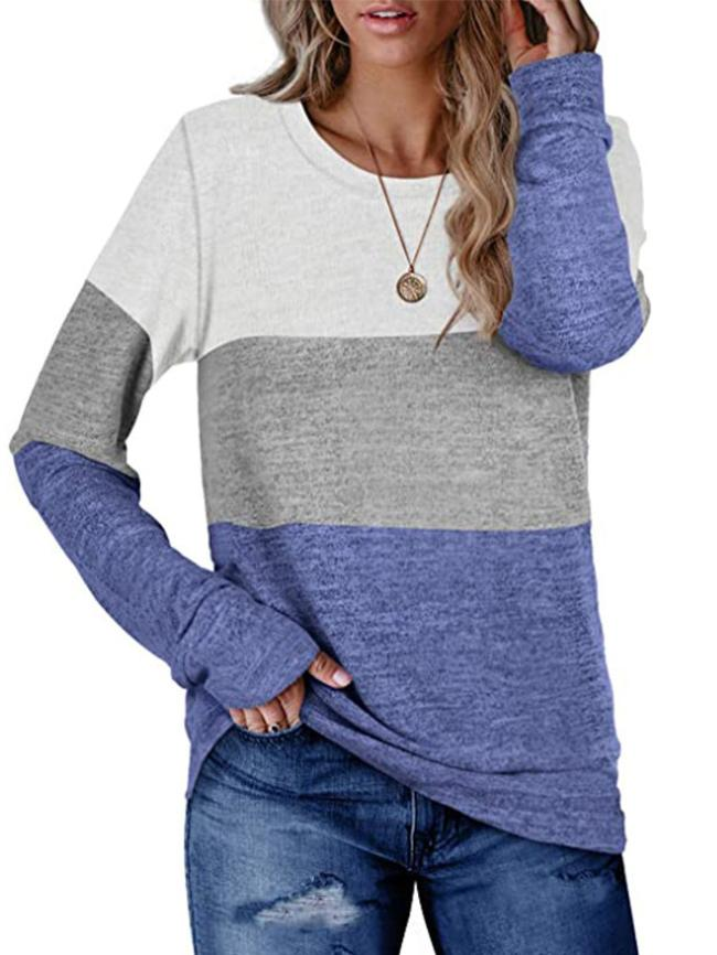 Block Sweater Top