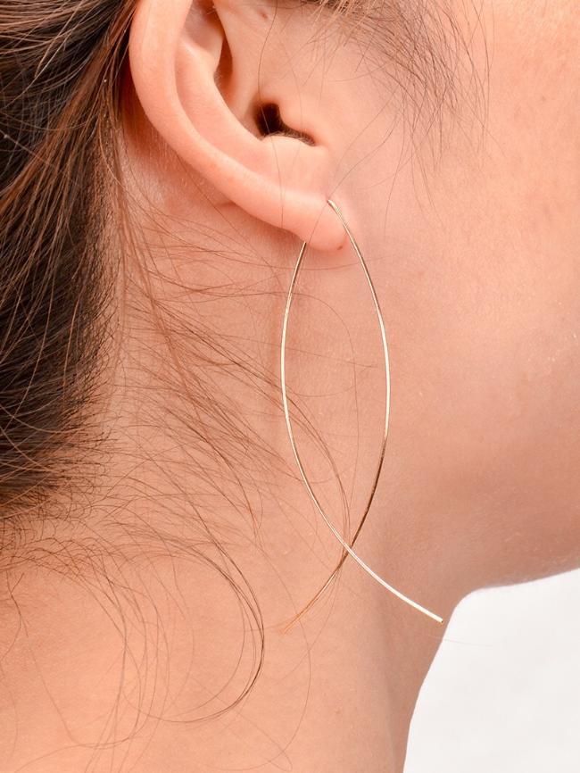 Fish Line Earrings