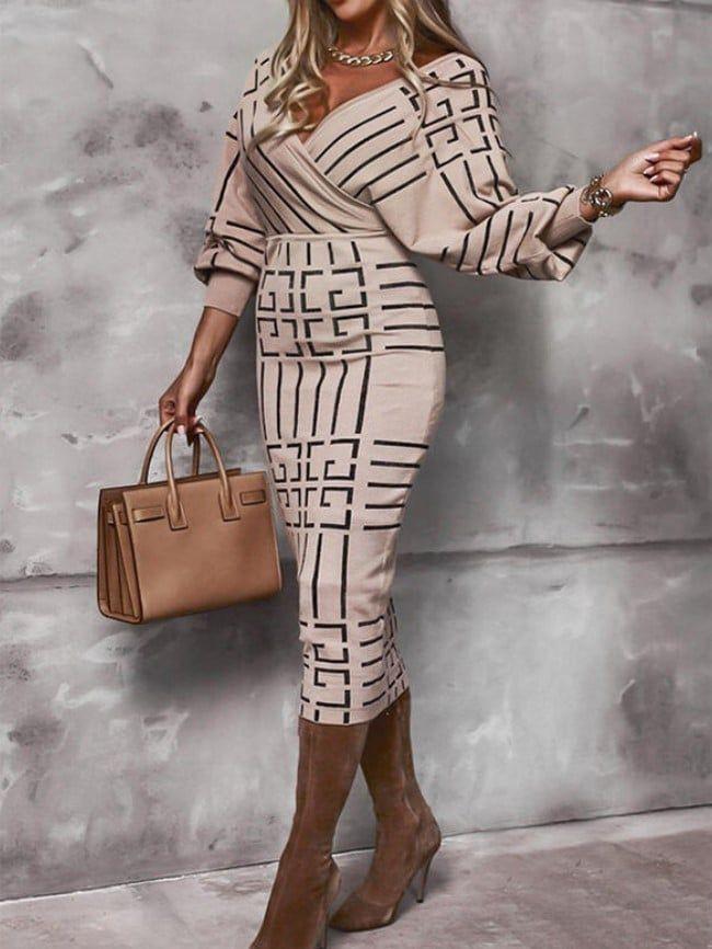 High Waist Skinny Dress