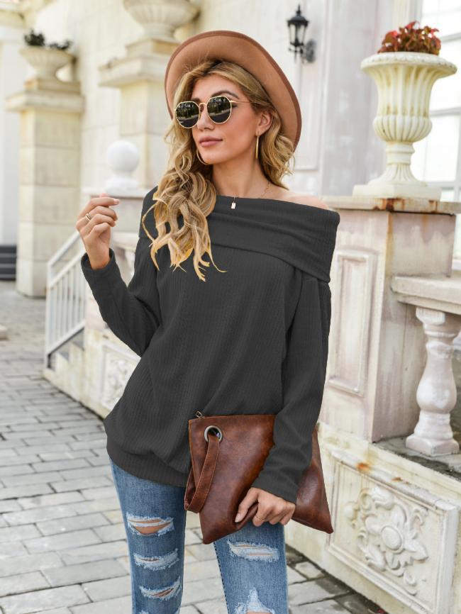 Knitted Sweater Base Shirt