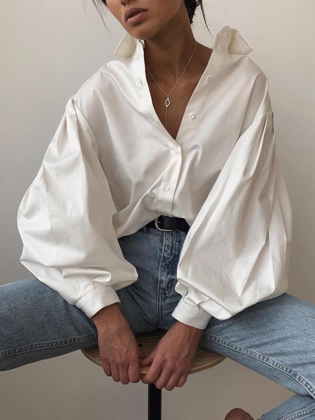Lapel Loose Shirt
