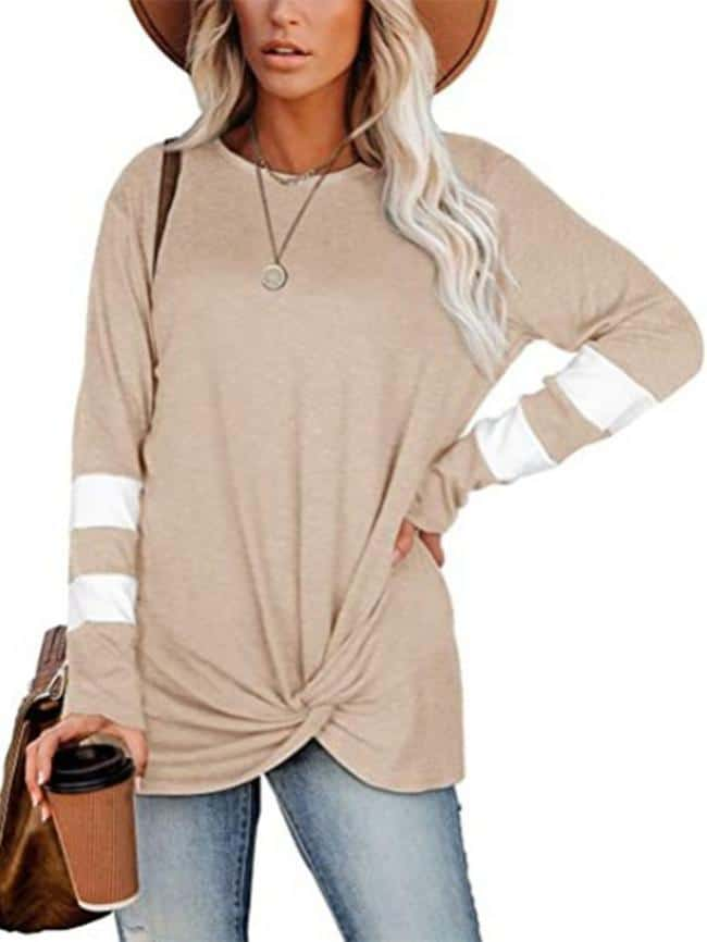 Loose Twisted T-Shirt