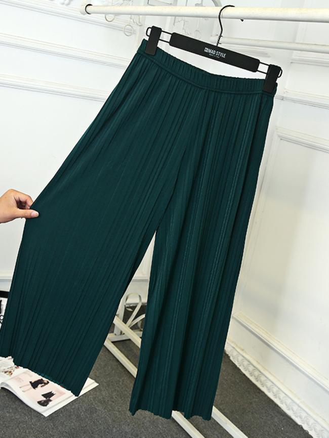 Nine-Point Loose Pants