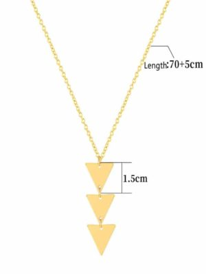 Pendant Clavicle Necklace