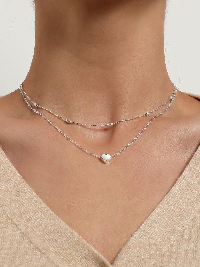 Pendant Clavicle Necklace
