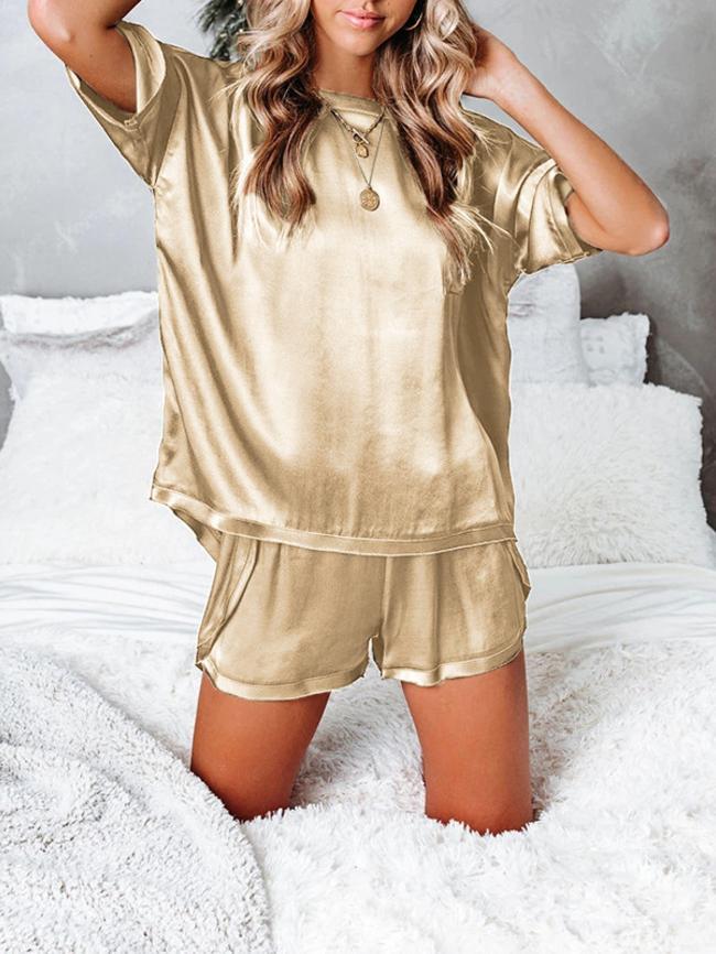 Round Neck Pajamas