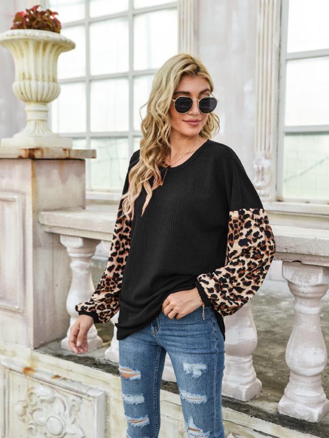 Round Neck T-Shirt Sweater