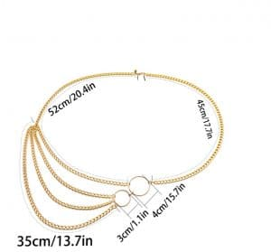 street style sexy waist chain