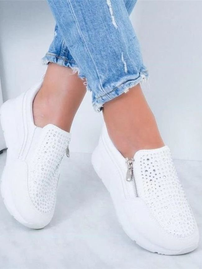 side casual sneakers