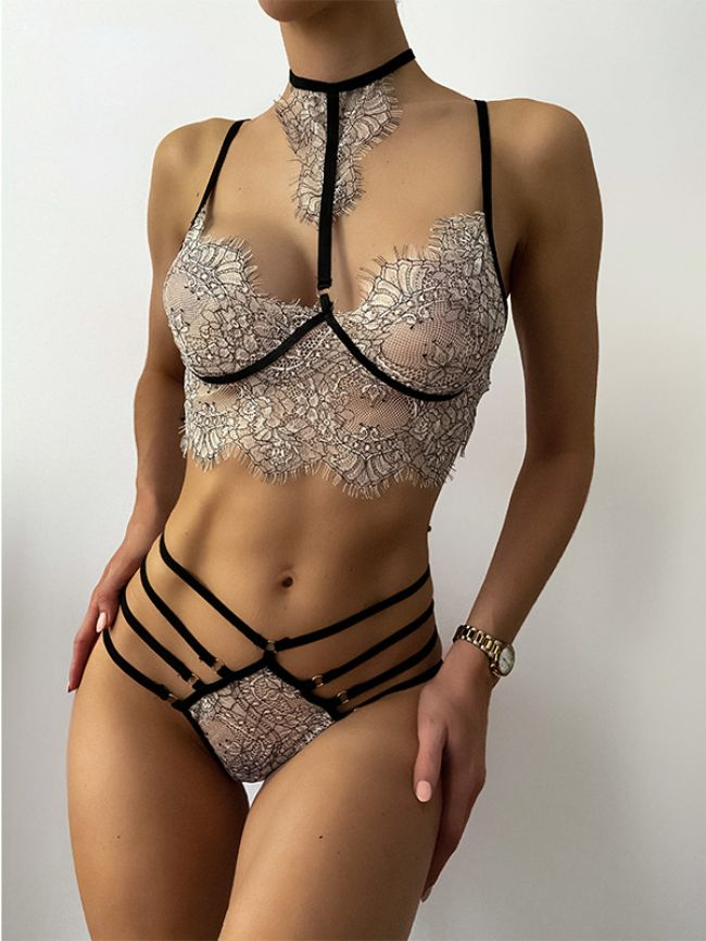 perspective sexy pure erotic fun lace suit