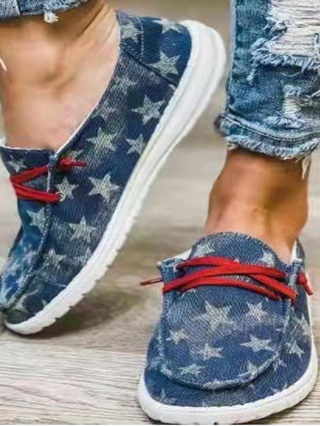 print shoes