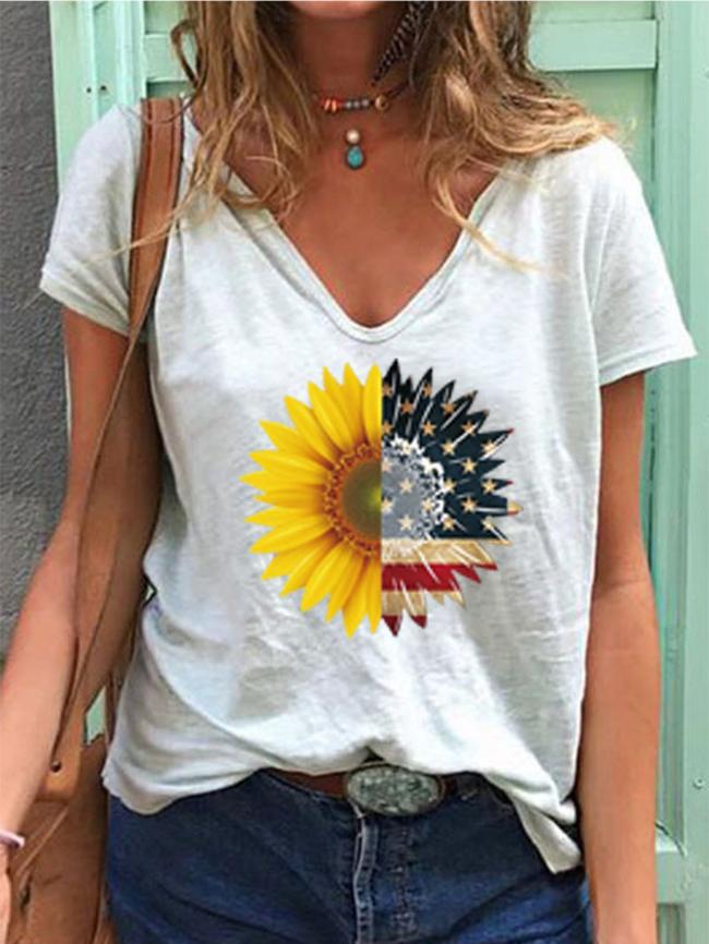 sunflower flag top