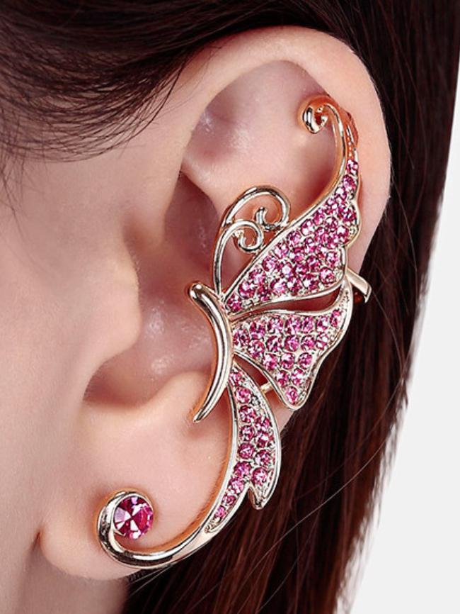 1pc Butterfly Ear Cuff