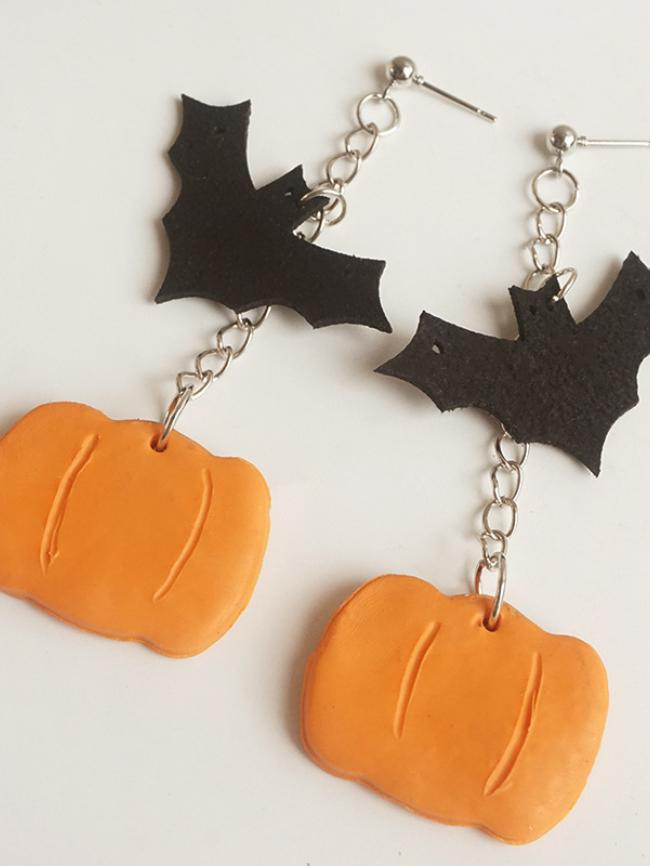 Halloween Polymer Clay Earrings