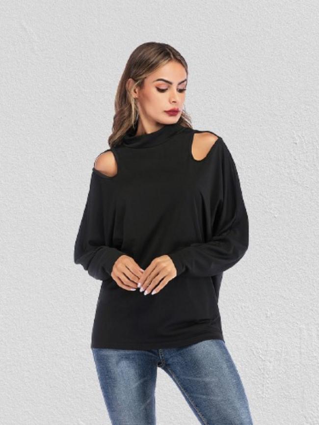 cold shoulder long sleeve top (1)
