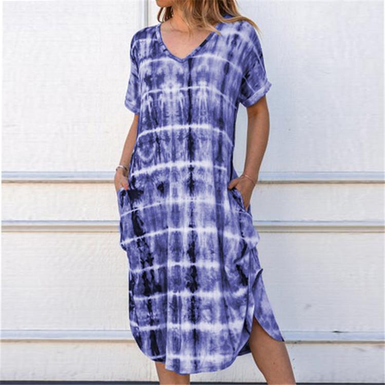 roll sleeve dress