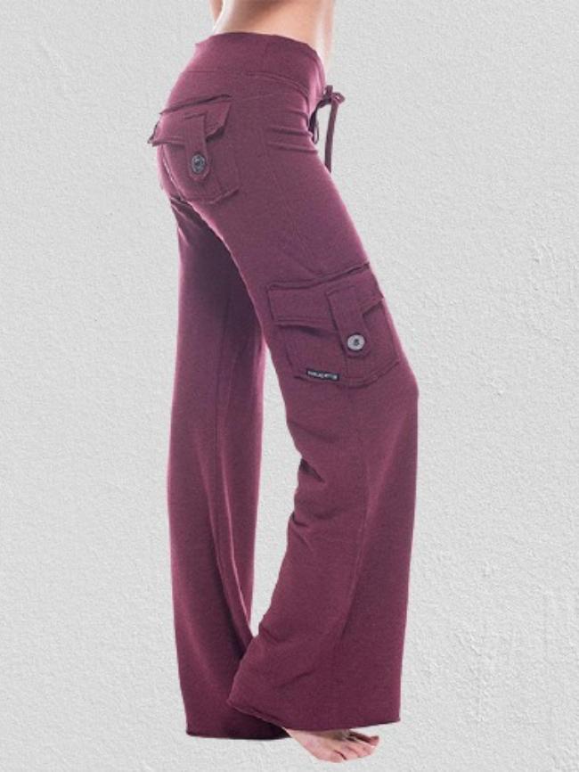 Stretch multi-pocket pants