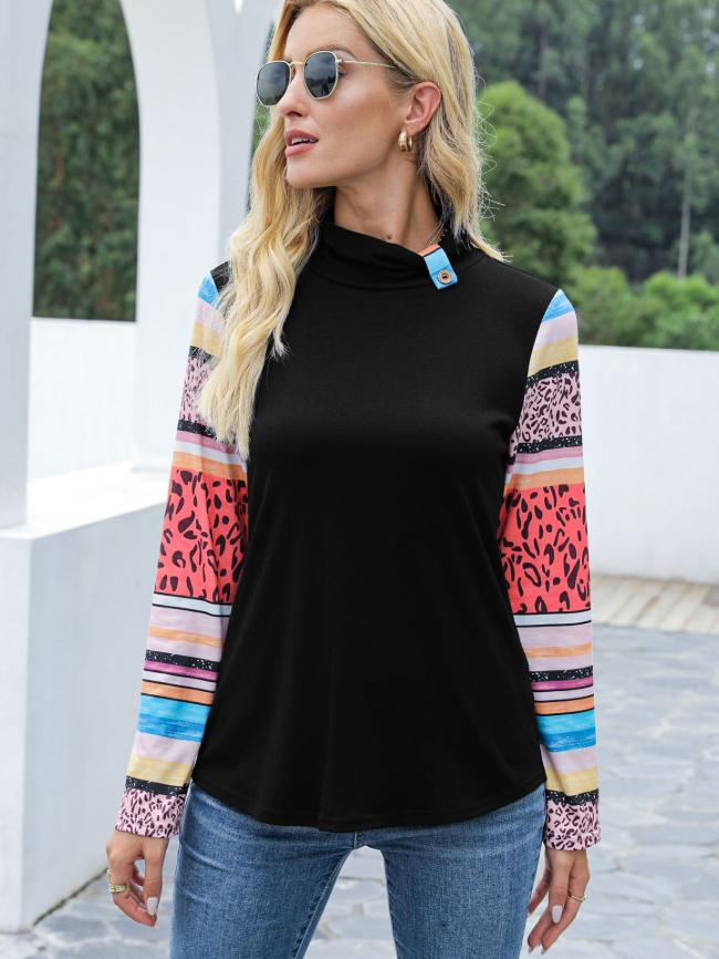 Bohemian long sleeve top